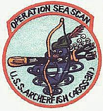 USS Archerfish Patch, Operation Sea Scan