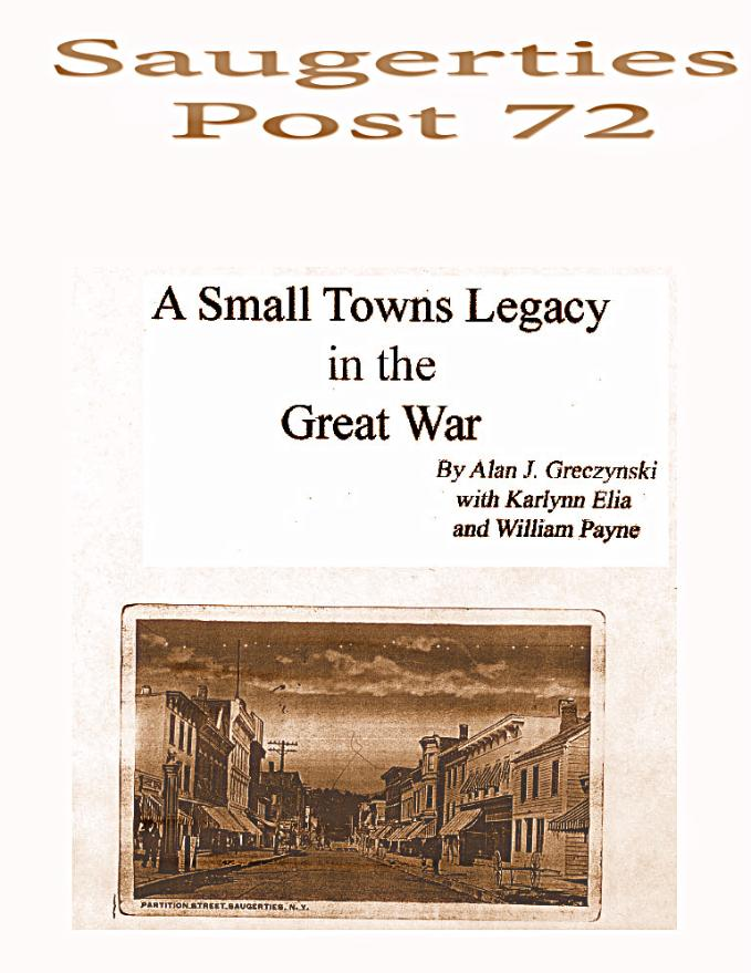 A Small Towns Legacy in the Great War