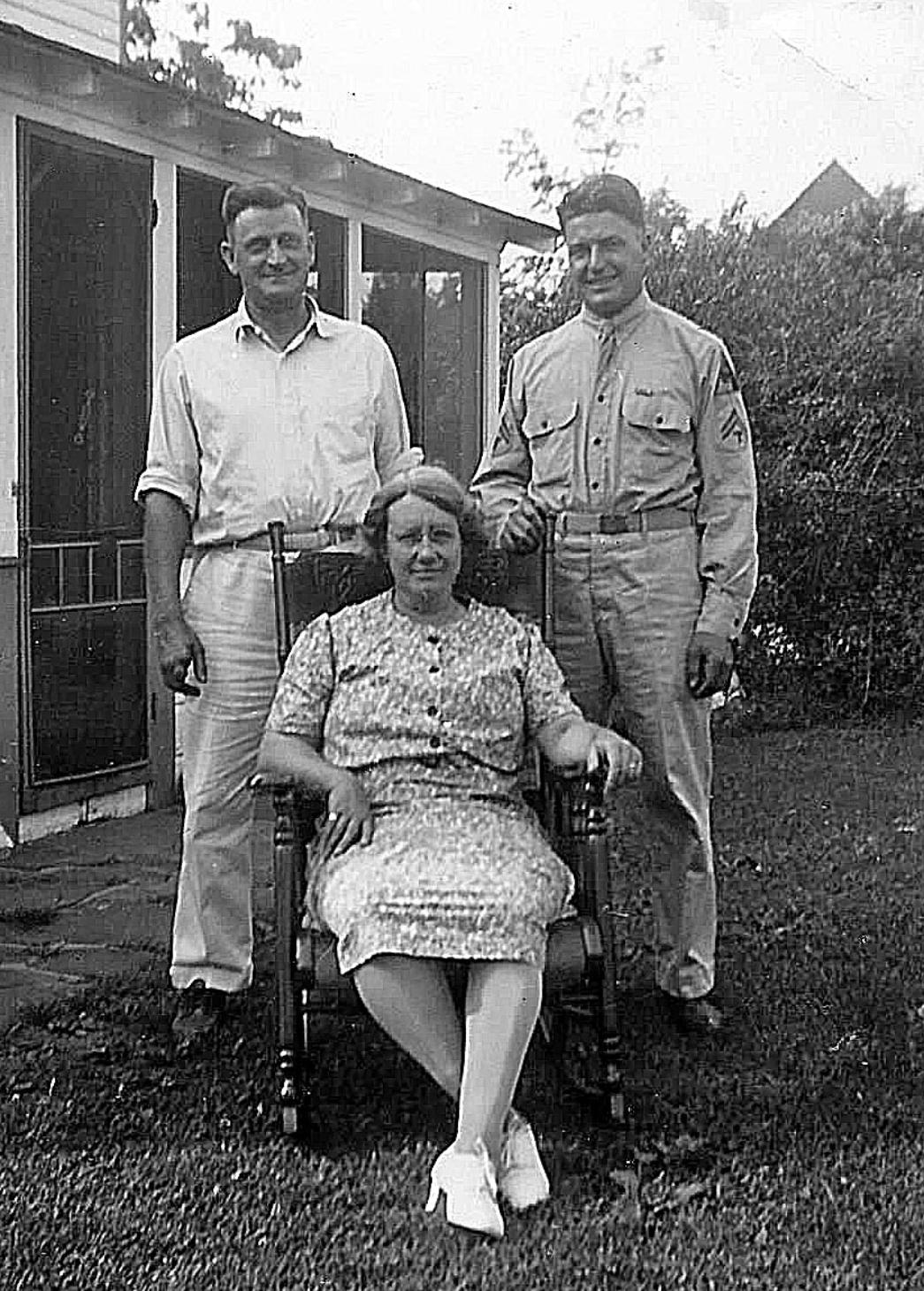 Lewis & Nita Snyder with son Roy