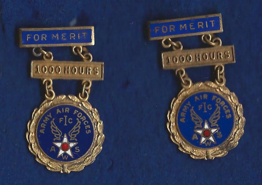 Air Spotters Merit Medals